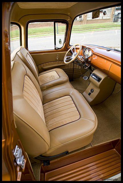 1956 Chevy Truck Interior Google Search