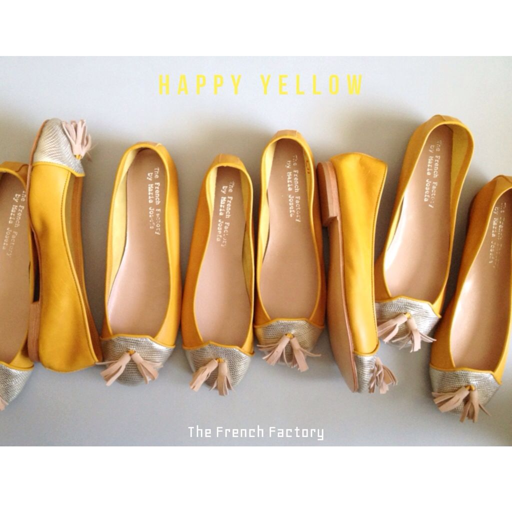 Happy Yellow flats The French Factory Pinterest Yellow flats