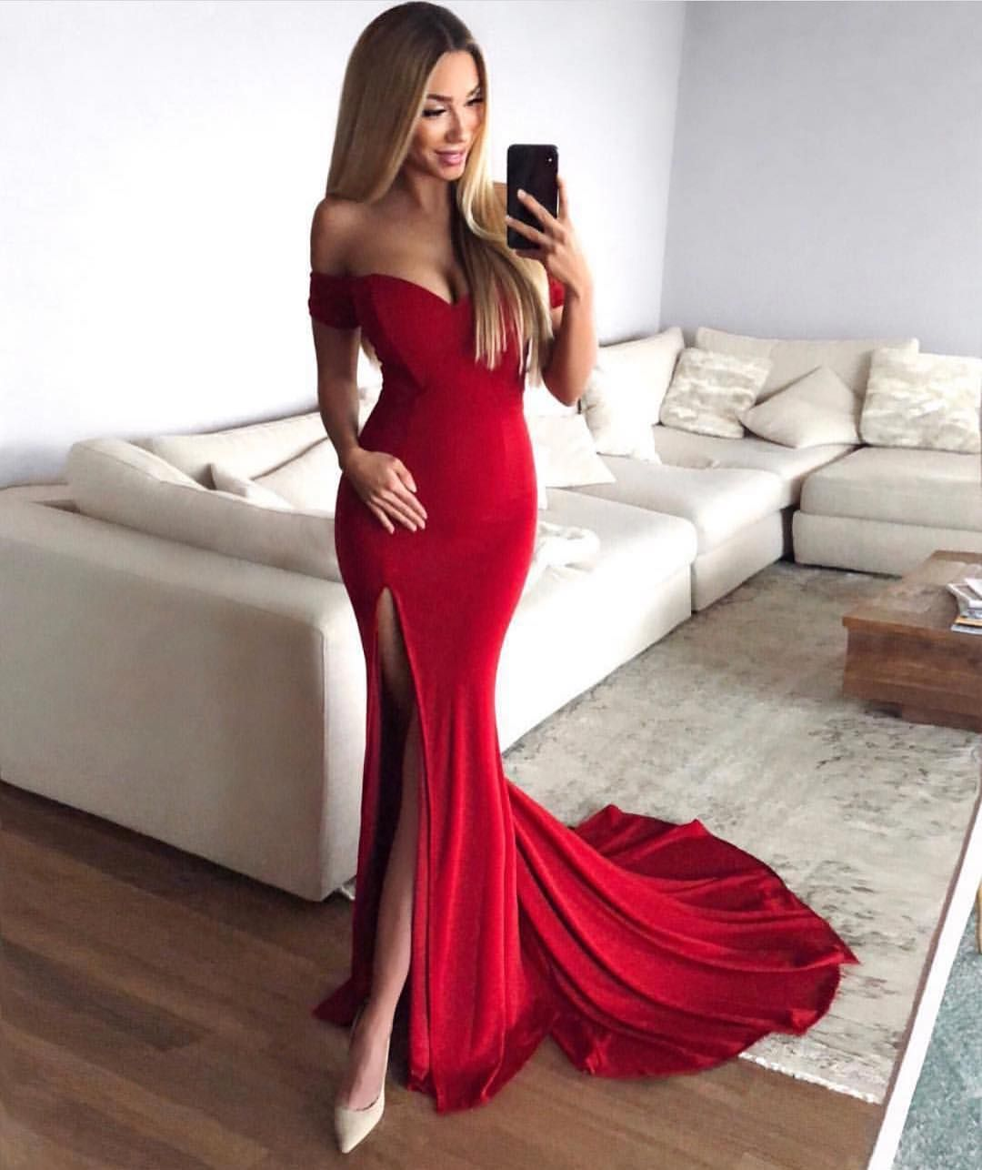 Clarau gown red red dresses in pinterest prom dresses