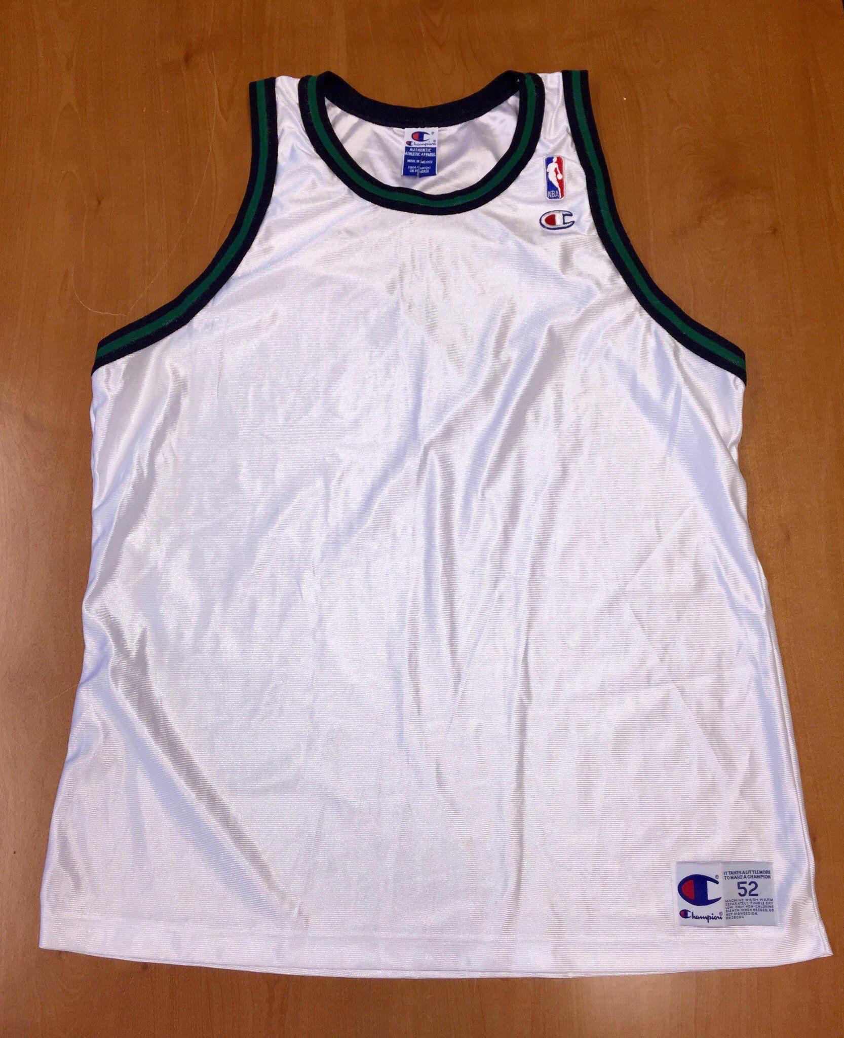 sale retailer 74f18 280e6 Vintage 1998 Minnesota Wolves Blank Champion Jersey Size 52 ...
