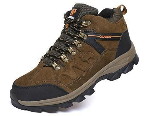 men leather shoes - Zapatos de cordones de Otra Piel para hombre negro negro, color negro, talla 39.5 EU