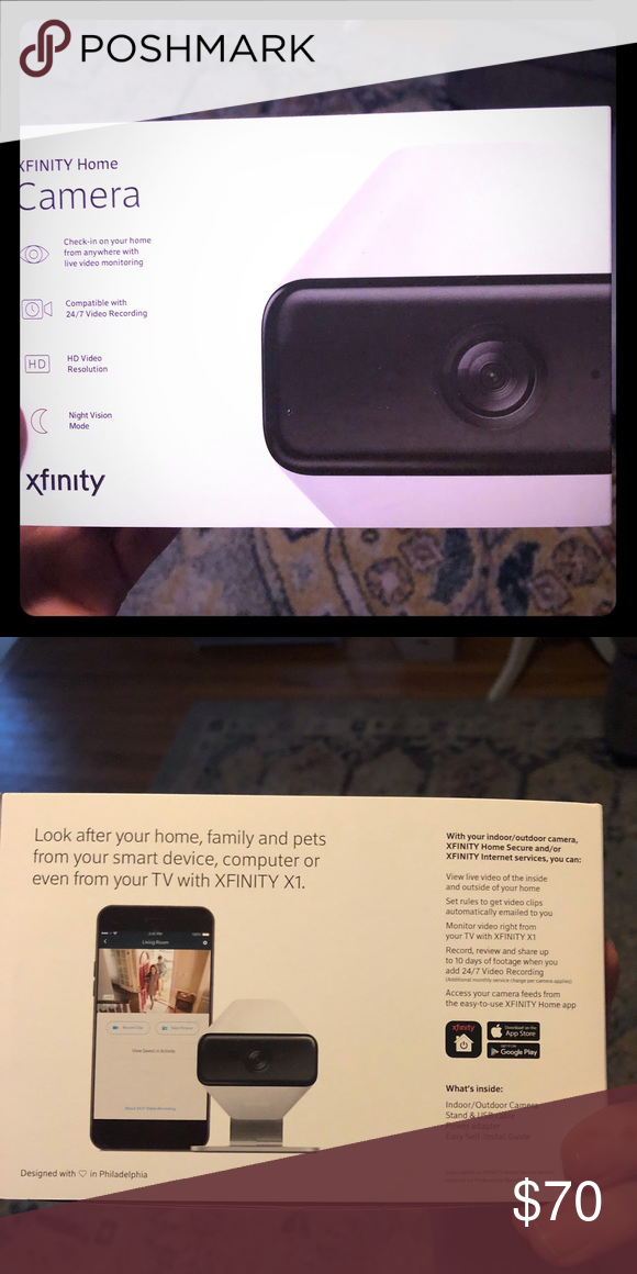 Xfinity Comcast Home security camera vid like new Like new