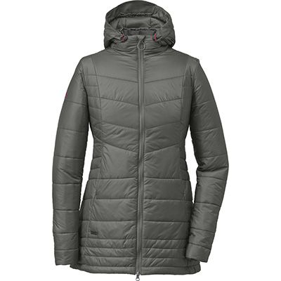 EMS; primaloft | Outdoor research, Womens parka, Hooded parka