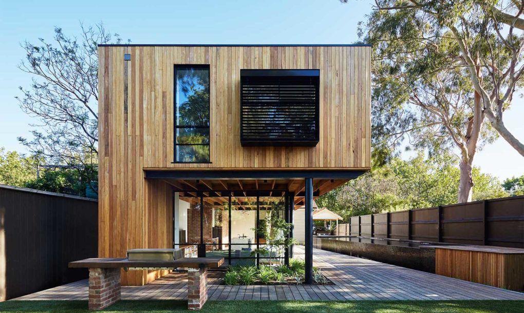 Fotos Asi Es Una Casa Construida Completamente Con Materiales