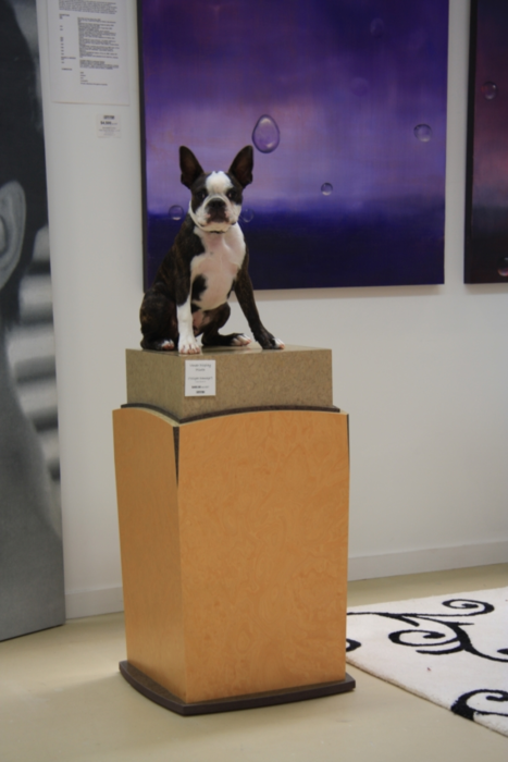 A piece of Boston Terrier art!