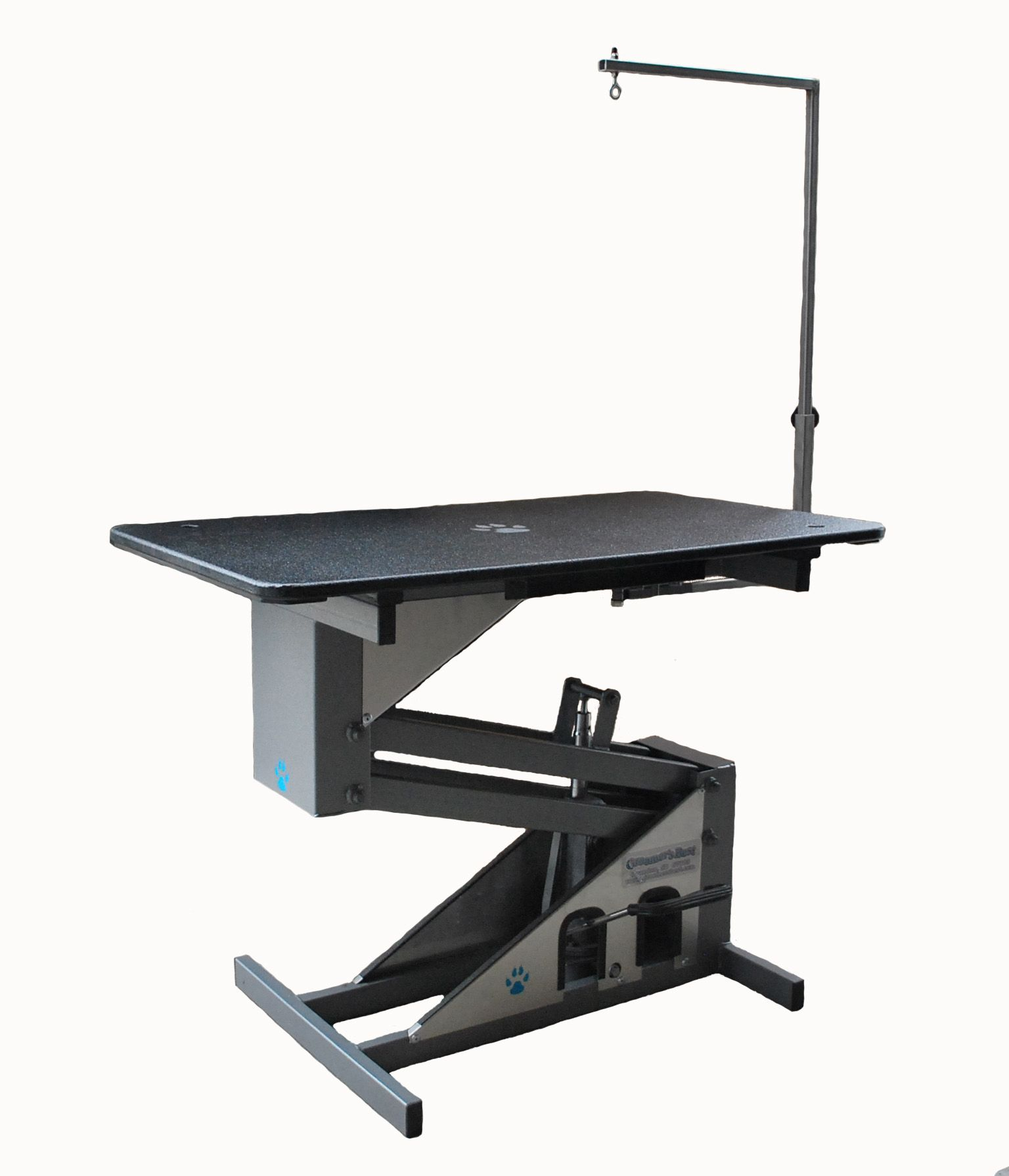 Groomer S Best Hydraulic Table With A Swing Arm