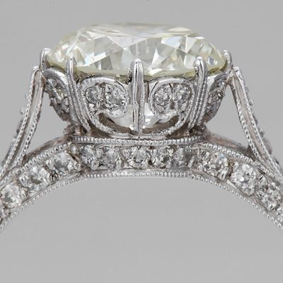 edwardian vintage rings carat jewellery engagement ring