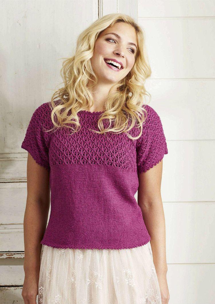 Simply Knitting №147 2016 - 轻描淡写 - 轻描淡写 | ärmellose Pullis ...