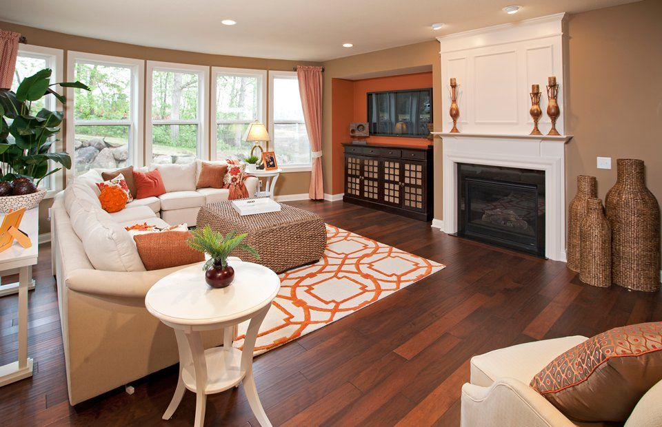 PuLTE HOMES LIVING ROOMS AND DINNING ROOMS | pulte homes in northern ...