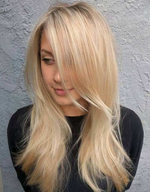 19 Best Women S Haircuts For Long Straight Hair With Layers And Side Bangs Click To Get The Best Long Ha Long Thin Hair Long Fine Hair Haircuts For Fine Hair
