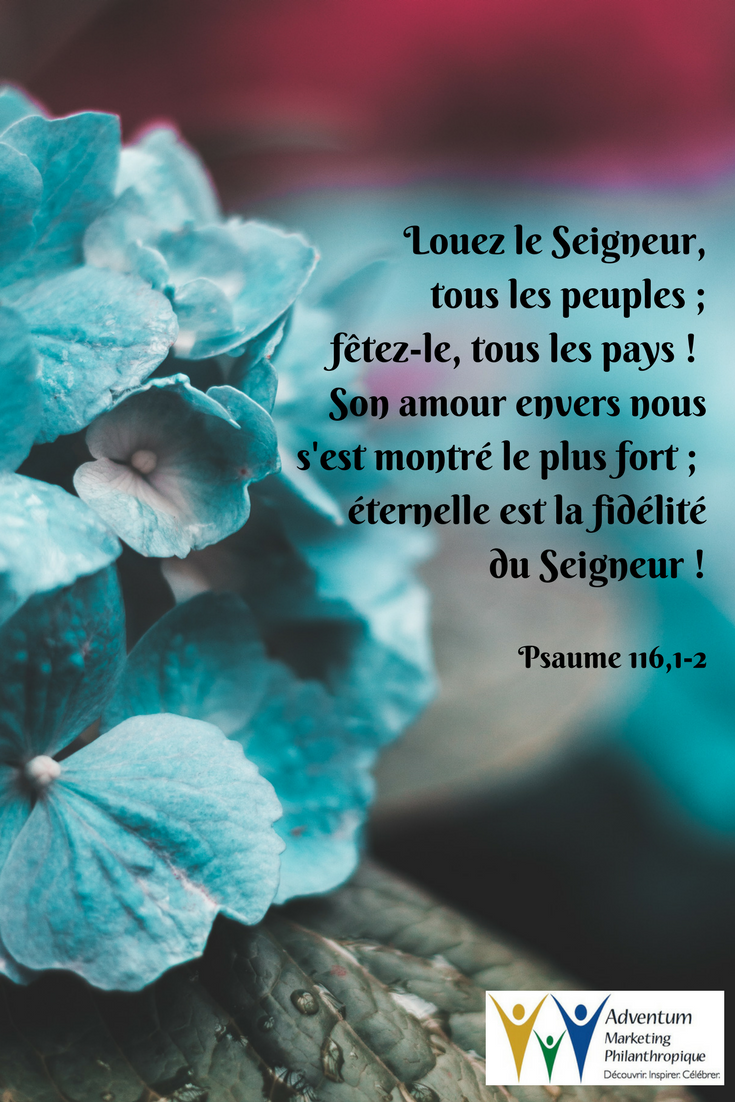 5 mai 2017 – Psaume 116,1-2 | Psalms, Praise the lords, Psalm 17