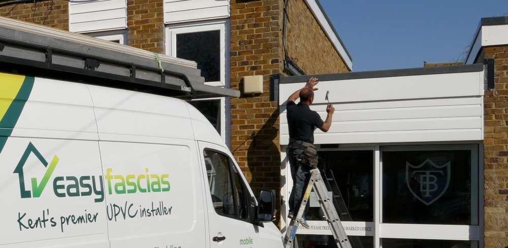 Easyfascias Co Uk Offers Affordable Fascias Cladding Soffits Guttering Flat Felt Roofing Repairs Maintenance Service Roofing Roof Repair Flat Roof Repair