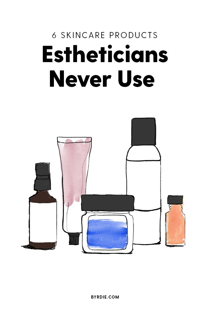 7 Skincare Items Estheticians Will Never Use Esthetician Skin Care Esthetics