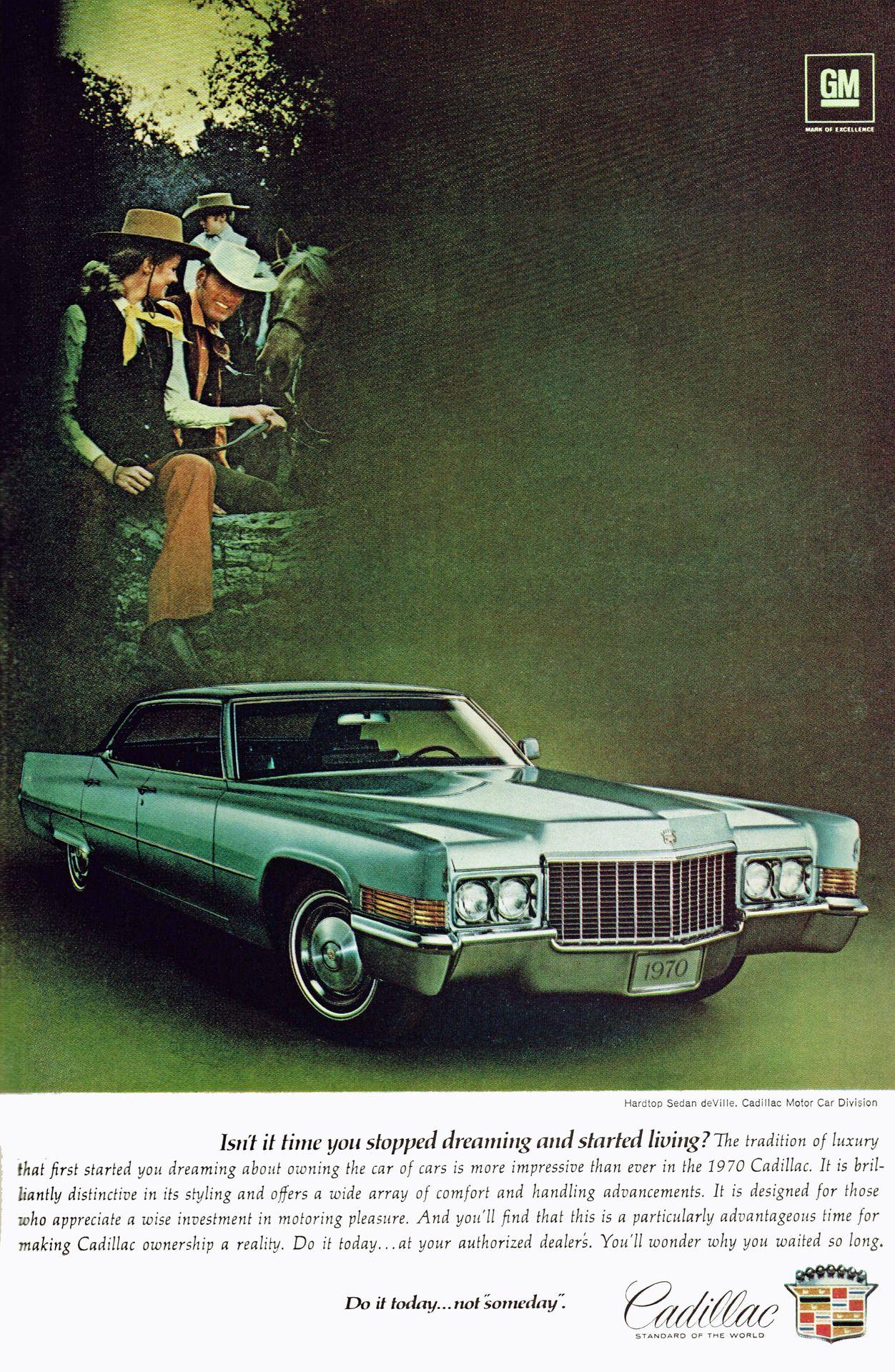 Cadillac Sedan deVille, 1970 Cadillac