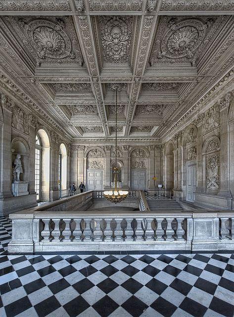 L'escalier des princes, Versailles