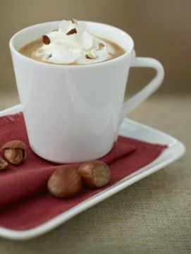 Chiboust Coffee Cream with Chopped Hazelnuts | Velvety smooth, this creamy Nespresso coffee recipe indulges all of your senses, making it a recipe that you'll enjoy day or night.