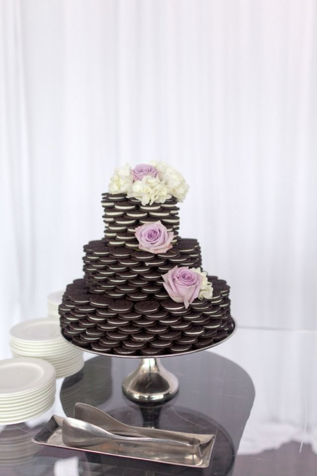 oreo cookie wedding cake stacked oreo cake search food 18055