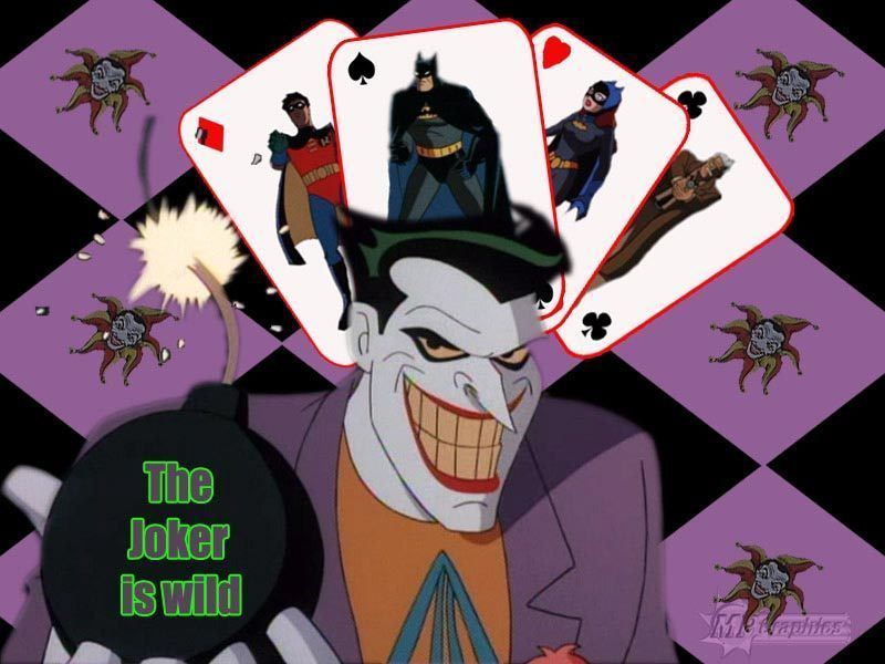 Joker Batman Animated Series Wallpaper