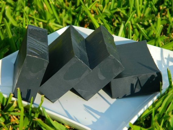 Activated Charcoal and Raw Organic Active Manuka Honey Soap (Unscented) - Detergent, SLS, and Dye FREE on Etsy, $6.00
