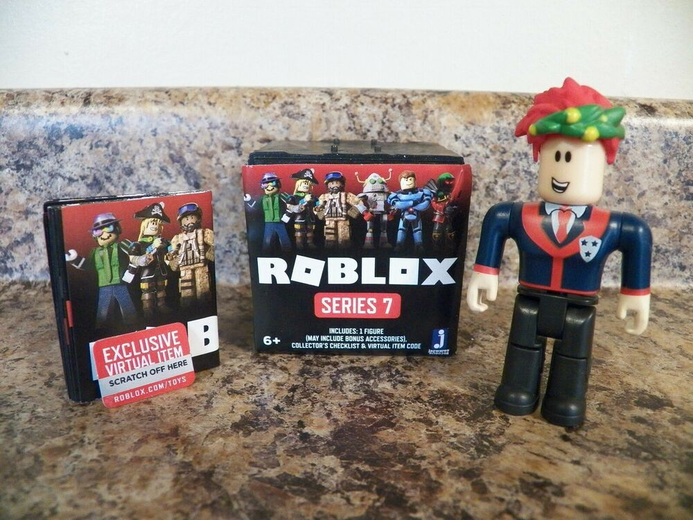 Details About Roblox Series 7 Mystery Black Box New W Code High