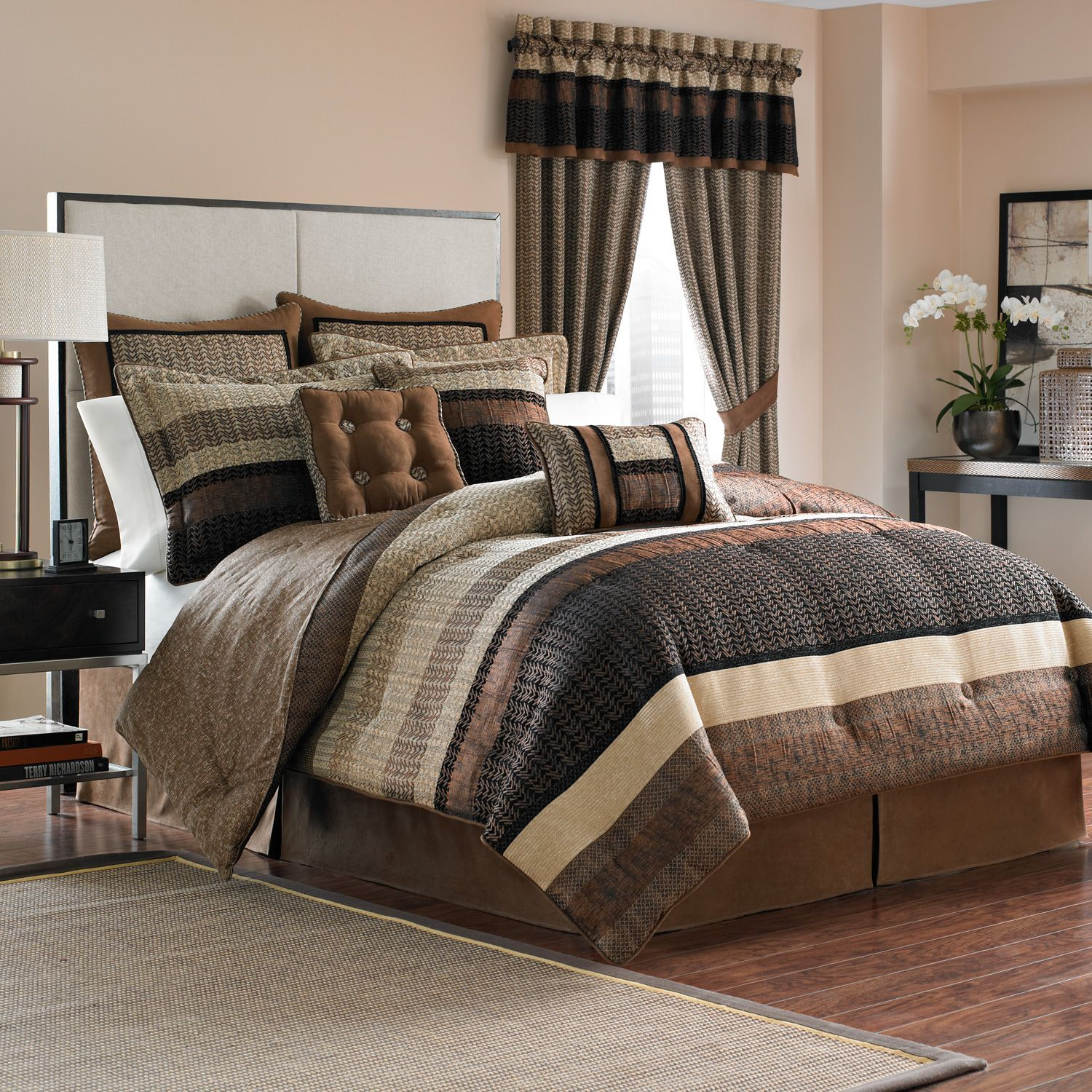 Chic California King Bedspreads For Bedroom Design