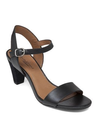 feaf8cbd0c3 Lucky Brand Ankle Strap Sandals - Pepperr Mid Heel