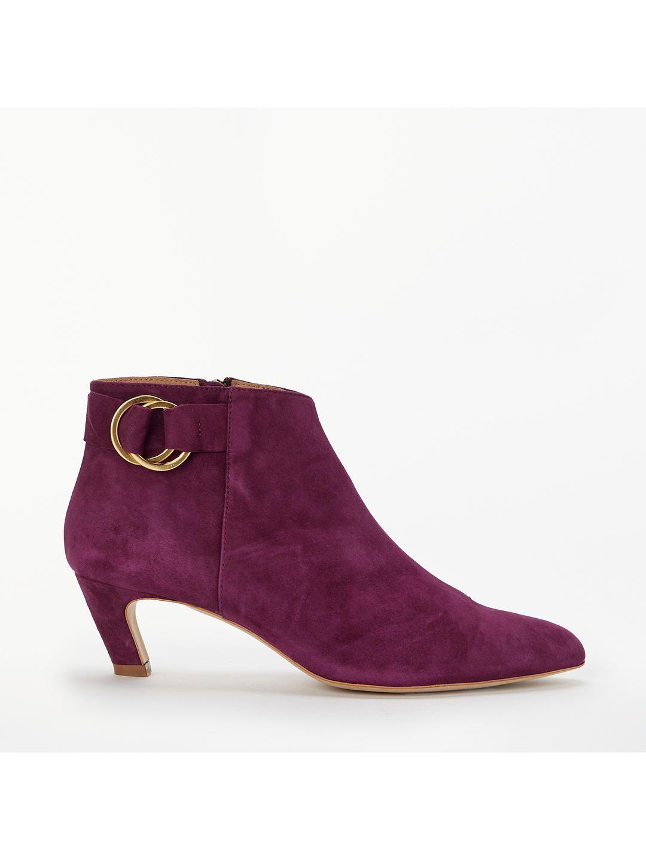 7e5bb2a7d11 BuyModern Rarity Olexa Kitten Heel Ankle Boots