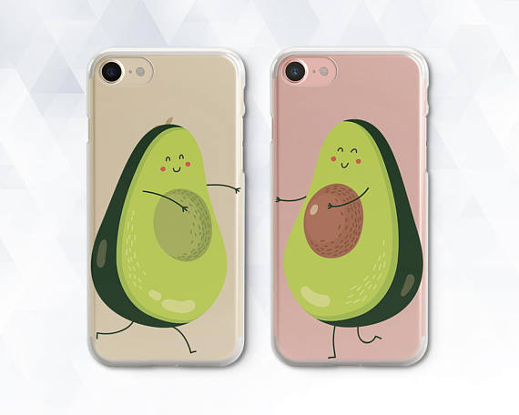 Avocado Iphone Case Kawaii Cute Iphone Xr Xs Max 8 7 Girl Etsy In 2020 Bff Phone Cases Iphone Friends Phone Case Bff Iphone Cases