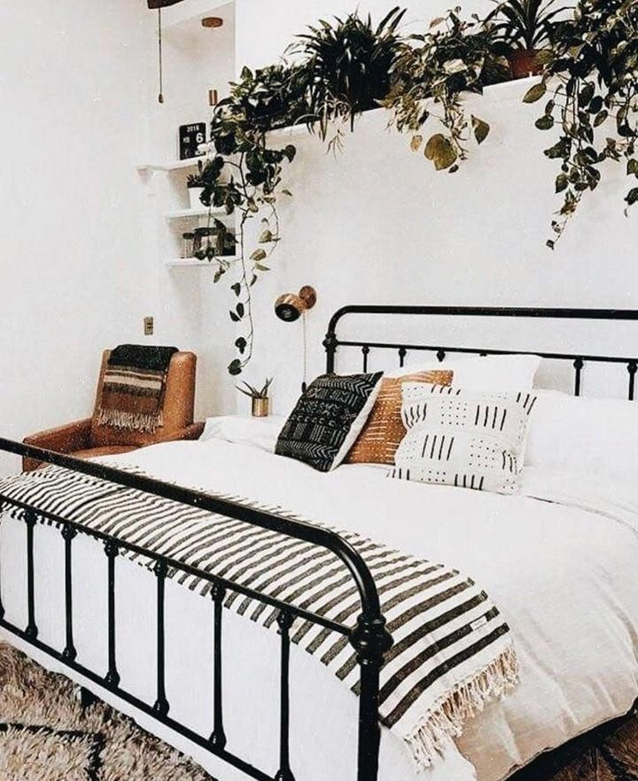 20 of our favorite Bohemian bedroom examples ... from subtle to all out extreme bohemian. The Boho decor style is coming back strong ... here's how to get it. #[ #interiordesign