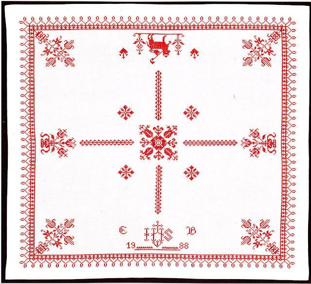 Austrian cross-stitch