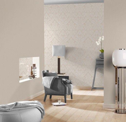 tapete rasch florentine barock beige creme 449020 | wohnzimmer, Wohnideen design