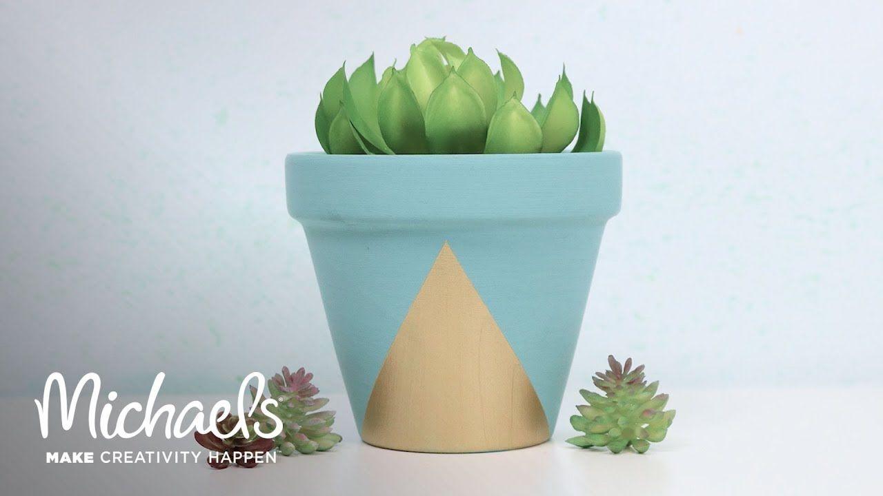 Personalize A Terra Cotta Pot Michaels Terracotta Pots Succulent Pots Plant Holders