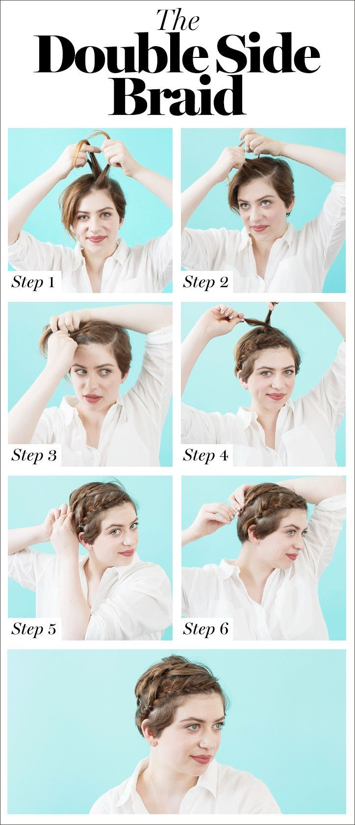 cool braids you can actually do on yourself diy hair tips