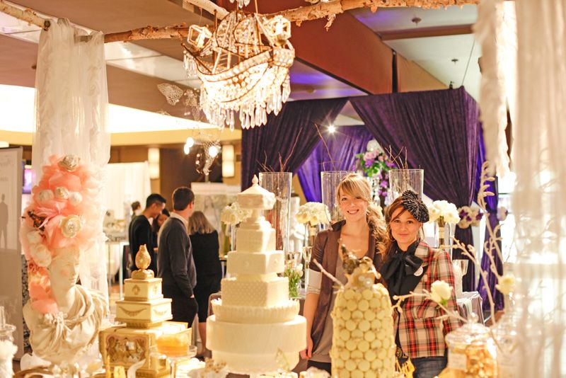 Amazing Bridal show 'booth' by Cake Opera co.