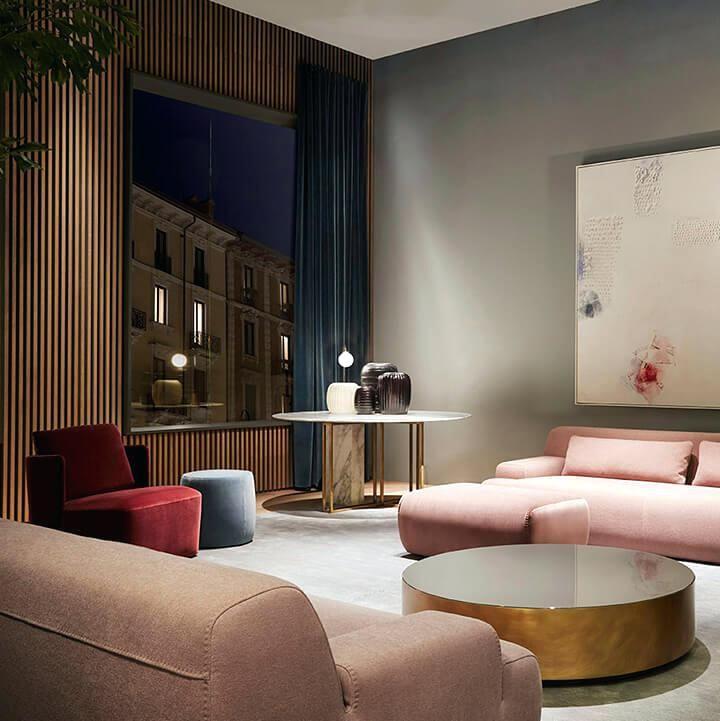 Rosa Wohnzimmermöbel | Wohnzimmer sofa, Schlafzimmer ...