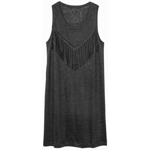Zadig & Voltaire Country Fringes Dre (10.845 RUB) via Polyvore featuring dresses, short и undefined