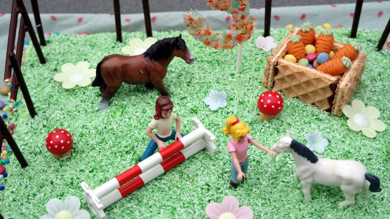 Bibi Und Tina Torte Friedas 3 Kindergeburtstag Annibackt Bibi Und Tina Torte Kuchen Kindergeburtstag Pferd Kindergeburtstag Pferde