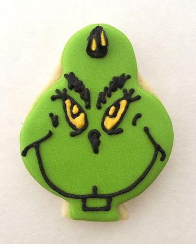 Mr. Grinch cookie