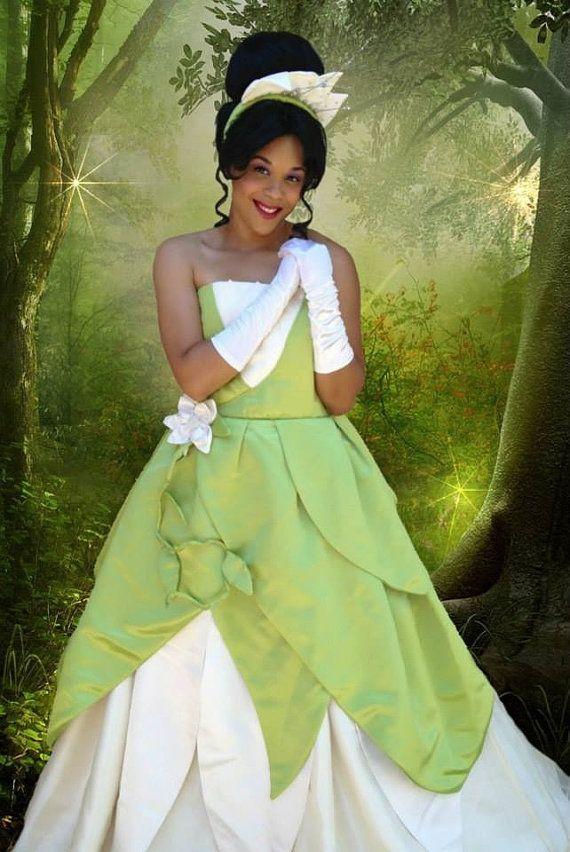 disney Princess Costumes for Adults | Custom Princess Tiana B Adult Costume by Bbeauty79 on Etsy  sc 1 st  Pinterest : princess tiana costume adult  - Germanpascual.Com