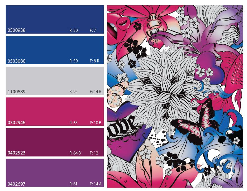 Top ColorWall Colors for December 2013 - eColorWorld