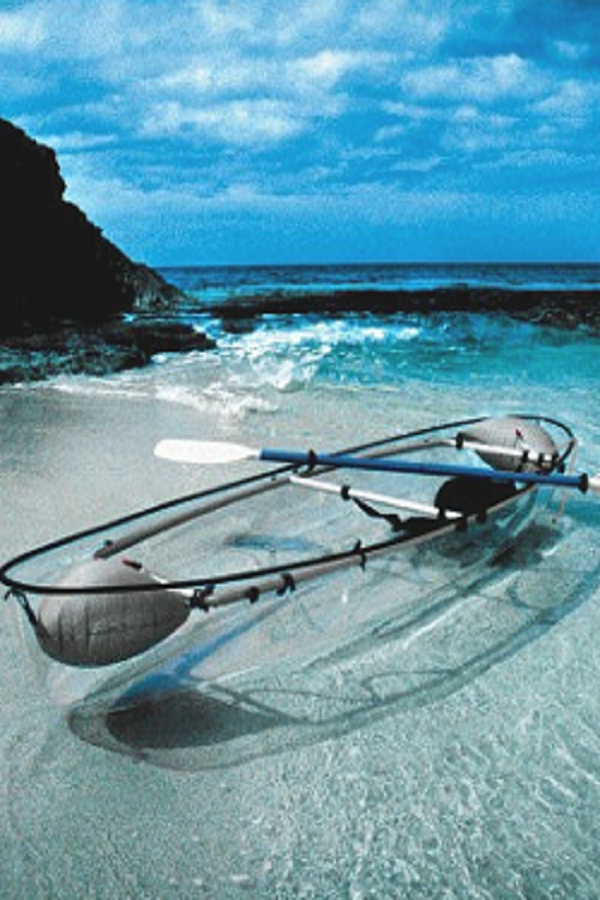 Futuristic Glass Bottom Boats