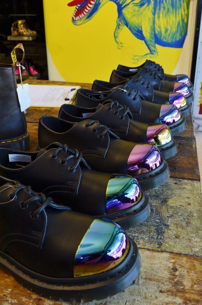 149c810a289 Grip Exposed Steel Cap 3 Eye Shoe | Fashion | Shoes, Shoe boots ...