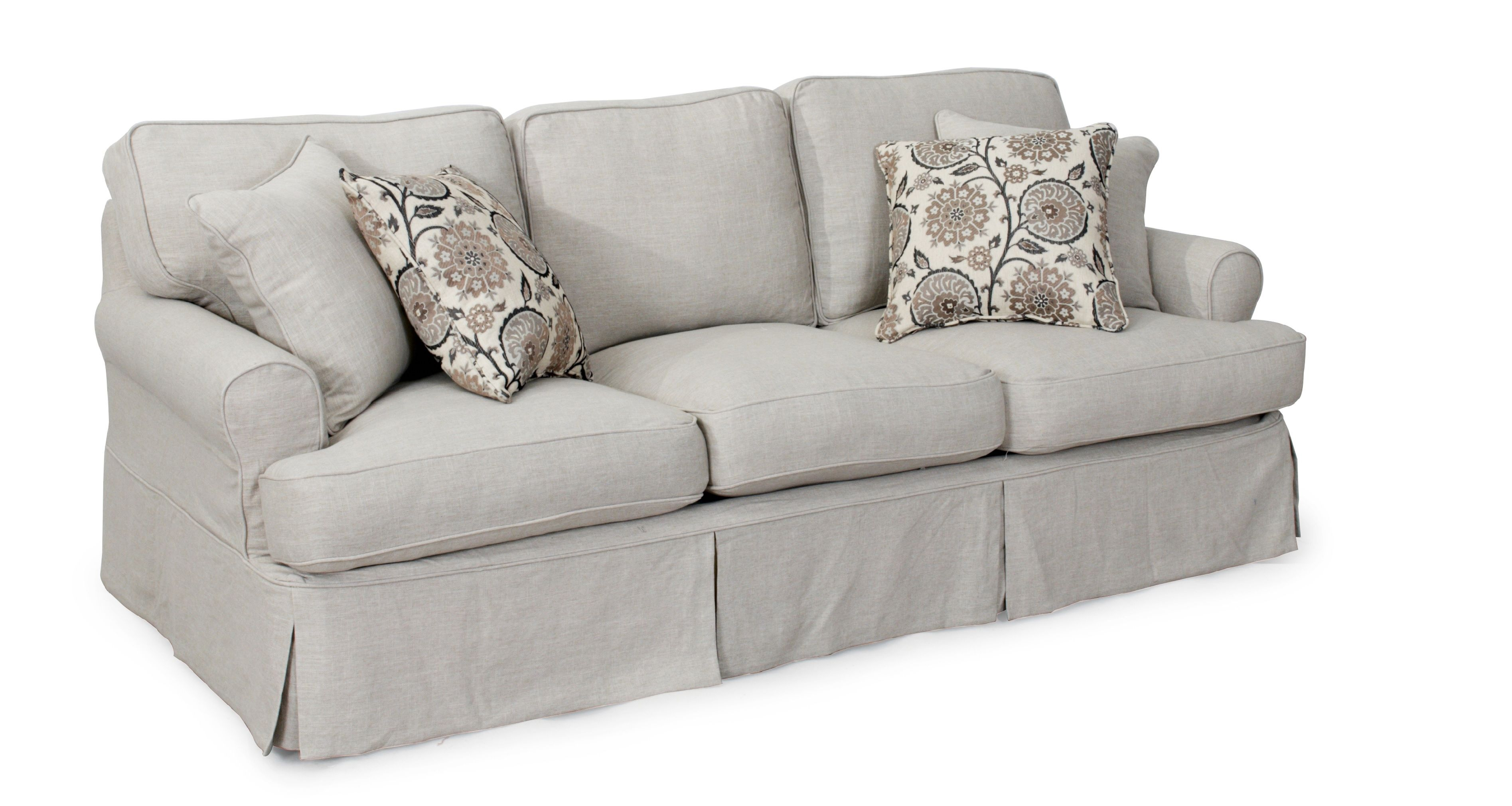 Light Grey Sofa Cover Cushions On Sofa Slipcovered Sofa Slipcovers