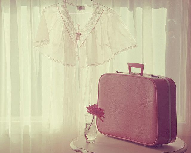 Pink suitcase:)