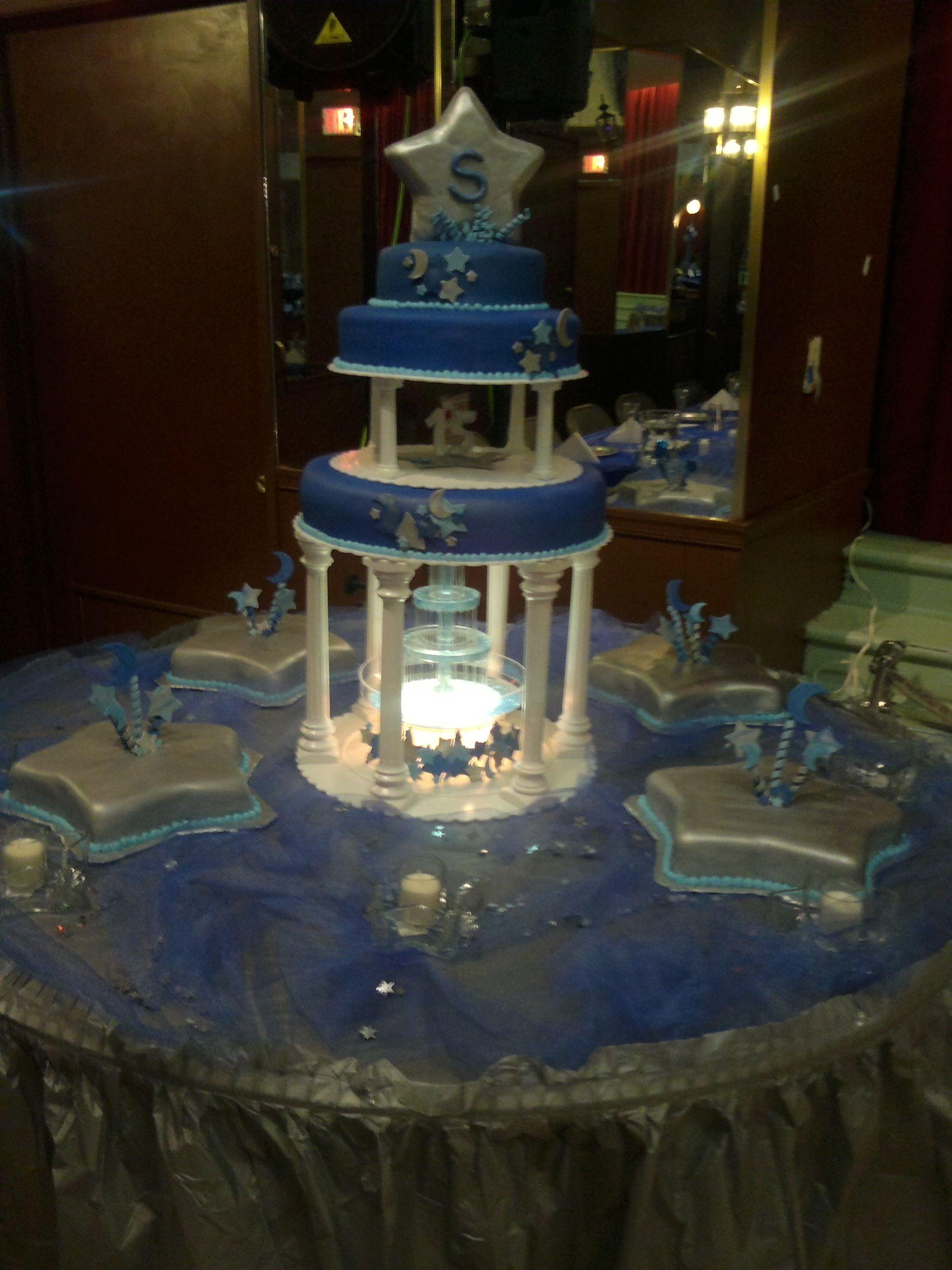 Moons Amp Stars Quinceanera Cakes Sweet 16 Birthday Cake