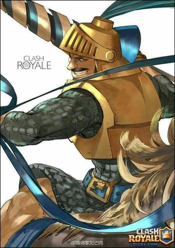 Clash Royale Characters Anime Style Interesante Choque De Clanes