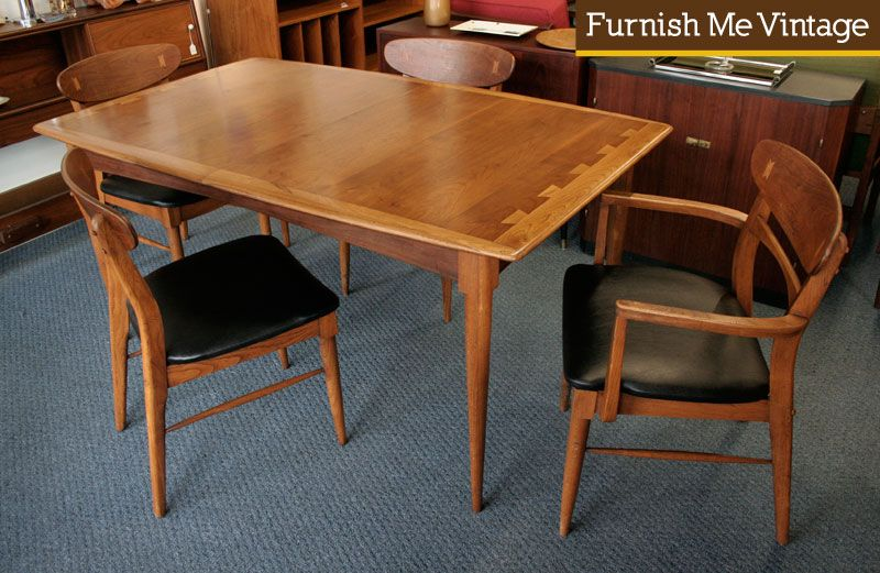 Sold Rare Lane Acclaim Dining Table Mid Century Modern