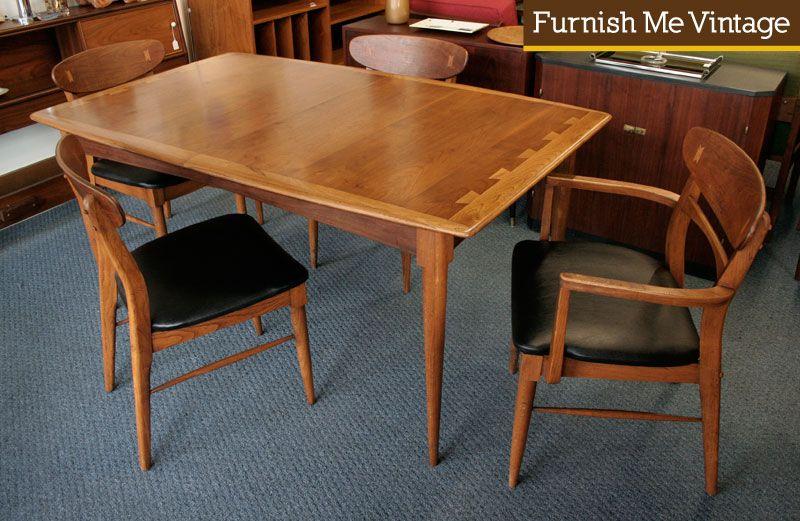 Sold: Rare Lane Acclaim Dining Table Mid Century Modern