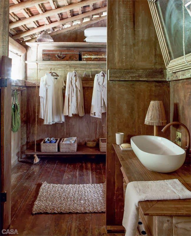 Un faro de ideas caba a rustica en trancoso brasil mi for Modelos de cabanas rusticas