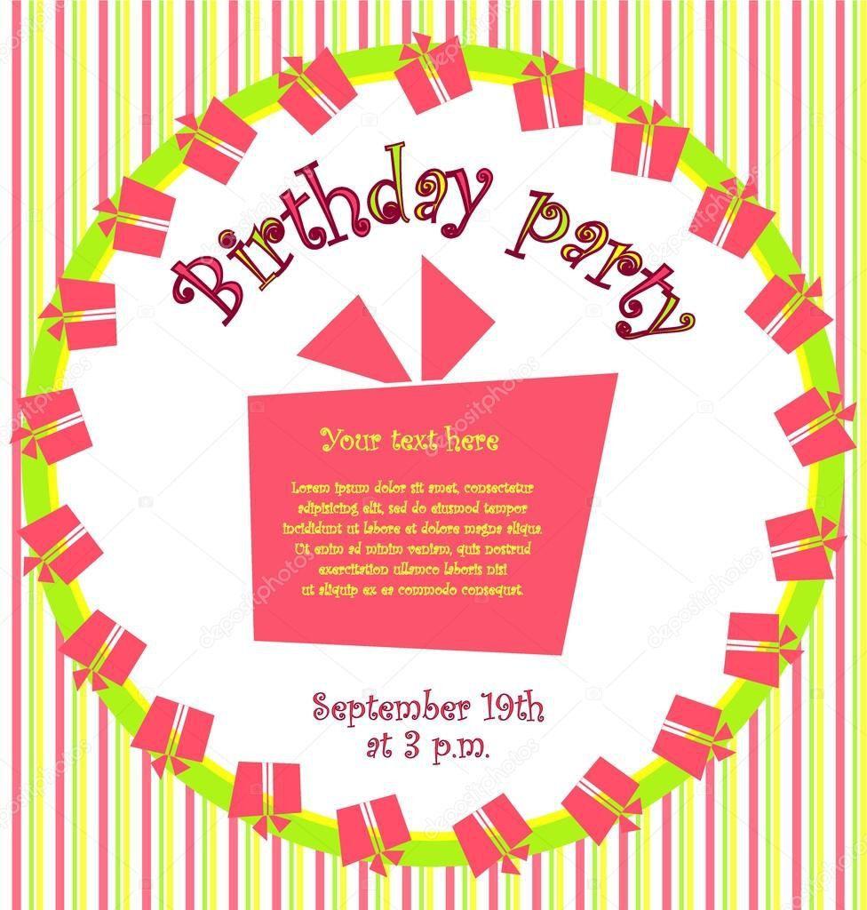Modele De Carte D Anniversaire En Anglais Awesome Carte D Invitation D Anniversaire Carte Anniversaire Carte Invitation Anniversaire Modele Carte Anniversaire